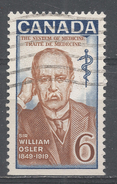 Canada 1969. Scott #495 (U) Sir William Osler (1849-1919), Physician (U) - 1952-.... Règne D'Elizabeth II