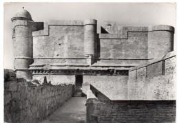 SALSES - Le Château - Le Donjon Vu De La Tour Sud-Ouest - 1970 - Salses