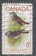 Canada 1969, Scott #496 Bird: White-throated Sparrows (U) - 1952-.... Règne D'Elizabeth II