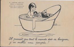 CPA Carte Ancienne 9X14 Croix Rouge Santé Médecine Tuberculose écrite - Health
