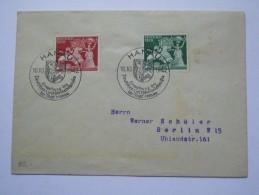 GERMANY 1942 COVER  HANAU JAHRESTAGUNG DER EINWEIHNUNG DES DEUTSCHEN GOL - Hanau To Berlin - Allemagne