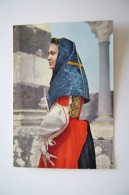 SASSARI  COSTUME SARDI   PLOAGHE    VIAGGIATA  COME DA FOTO - Costumi