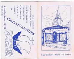 CHARLES JOANNIDIS BRIVE - Calendriers