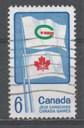 Canada 1969, Scott #500 Flag Of Summer And Winter Canada Games (U) - 1952-.... Règne D'Elizabeth II