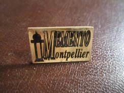 Pin's Ville De Montpellier , Mémento , Hérault - Villes