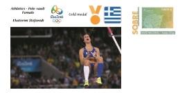 Spain 2016 - Olympic Games Rio 2016 - Gold Medal Athletics Female Greece Cover - Juegos Olímpicos