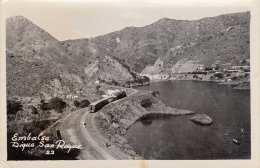 SAN ROGUE (Spanien) - Embalsa Diqua, Eisenbahn, Gel.1955 - Spanien