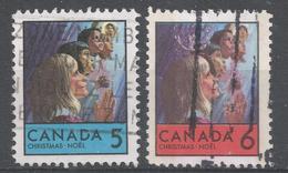 Canada 1969. Scott #502-3 (U) Christmas: Children Of Various Races - 1952-.... Règne D'Elizabeth II