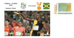 Spain 2016 - Olympic Games Rio 2016 - Gold Medal Athletics 4x100m. Male Jamaica Cover - Juegos Olímpicos