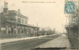 CPA Chatou-La Gare De Chatou Croissy    L2183 - Chatou