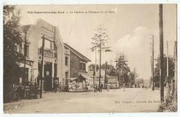 Sainte Genevieve Des Bois (91 . Essonne) Le Cinéma Et L'Avenue De La Gare - Thème Cinéma - Sainte Genevieve Des Bois