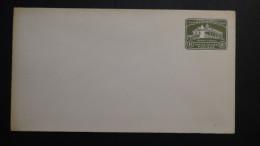 USA - 1932 - 1 Cent - Mount Vernon Washington House - Envelope - Postal Stationery - Unused - Look Scan