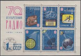 Rusia 1965 HB Nº 38 Usado - Blokken & Velletjes