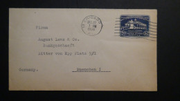 USA - 1932 - 5 Cent - Mount Vernon Washington House - Envelope - Postal Stationery - Used - Look Scan