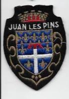 ECUSSON TISSU DEP 06 JUAN LES PINS - Ecussons Tissu