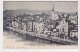 Zürich - Limmatquai Und Predigerkirche - ZH Zurich