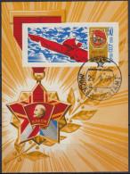 Rusia 1968 HB Nº 51 Usado - Blokken & Velletjes
