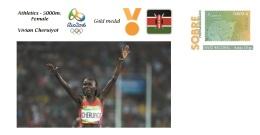 Spain 2016 - Olympic Games Rio 2016 - Gold Medal Athletics 5000m. Female Kenya Cover - Juegos Olímpicos
