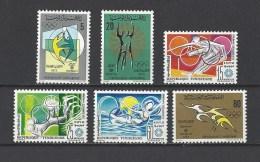 TUNISIE . YT 722/727  Neuf **  Jeux Olympiques De Munich  1972 - Tunisie (1956-...)