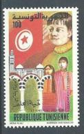 "Tunisie YT 1004 "" Salut Du Drapeau "" 1983 Neuf** - Tunisie (1956-...)"