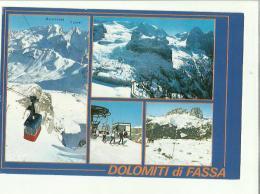 132122 Dolomiti Di Fassa Si Vede Funivia - Trento