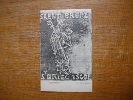 Carte Assez Rare , Saent Breiz , Saint Breton , Sant Briec Escop , Saint Brieux - Francia