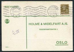 1935 Norway Chemist Medical Advertising Postcard Tromso - Norway