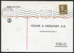 1933 Norway Chemist Medical Advertising Postcard Sarpsborg - Norway