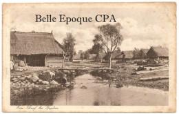 Biélorussie - HRODNA / Ein Dorf Bei GRODNO +++++ J. Themal, Posen +++++ FELDPOST / Carte Allemande +++++ 1916 - Belarus