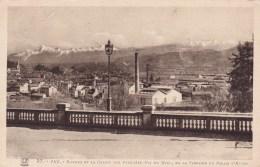 BIZANOS: Chaine Des Pyrénées (Pic Du Midi,de La Terrasse Du Palais D'Hiver) - Bizanos
