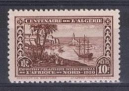 ALG-50 - ALGERIE N° 100 Neuf** Port D'Alger En 1830 - Algérie (1924-1962)