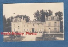 CPA Photo - Environs De CHERVES RICHEMONT - Château De L' HOUMADE - 4 Février 1917 - TOP RARE - France