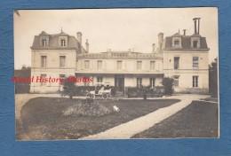 CPA Photo - Environs De CHERVES RICHEMONT - Automobile Devant Le Château De L´ HOUMADE - 4 Février 1917 - TOP RARE - France