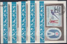 Rusia 1982 HB Nº 153 X 5 Usado - Blokken & Velletjes