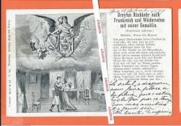 DREYFUS  RÜCKKEHR Nach FRANKREICH Und WIEDERSEHEN Mit  Seiner GEMABLIN  - 1899 - Hommes Politiques & Militaires