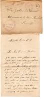 Lettre En Franchise D'un PDG Au Camp De Münstrt V.Bruxelles Schaerbeek C.Facteur Avec Contenu Censure PR3371 - WW I