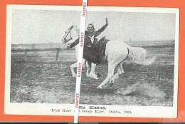 Dublin 1924  -  BEA KIRNAN   -   Trick Rider And Bronk Rider - Dublin