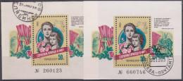 Rusia 1983 HB Nº 168 X 2 Usado - Blokken & Velletjes
