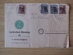 15.12.1948, BELEG Der ZWITTERSTOCK ALTENBERG, ZWEIGBETRIEB Der VVB BUNTMETALL Mit STEMPEL Von ALTENBERG (ERZGEB) - Zona Soviética