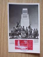 1959, MAXIMUMKARTE Mit Nr. 651, BUCHENWALD, WEIMAR - Cartas
