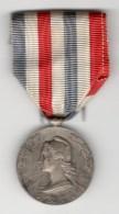 Médaille D'Honneur Des Chemins De Fer - Attribuée 1954 - Unclassified