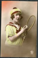 France French Tennis Postcard - Tennis