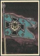 Germany DR Deutsche Reich Propoganda Wehrmacht Standarten Postcard 14 (REPRODUCTION) - War 1939-45