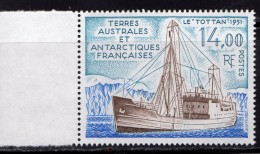 Terres Australes Et Antartiques Français 1992.Le Tottan - Französische Süd- Und Antarktisgebiete (TAAF)