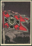 Germany DR Deutsche Reich Propoganda Wehrmacht Standarten Postcard 10 (REPRODUCTION) - War 1939-45