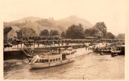 Photo Originale Navire & Paquebot - Allemagne - Königs Wusterhausen - Bateau à Quai & écluse - Bateaux