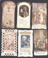 Lot De 21 Images Religieuses - Images Religieuses