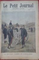 Le Petit Journal Supplément Illustré N°591 1902 Nouveau Casque De L'Artillerie,Attaqués Par Les Loups - Giornali