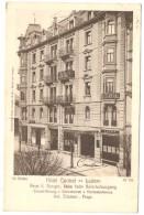 LUZERN  ---   Hôtel Central - LU Luzern