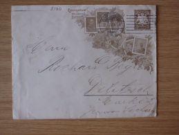 BAYERN, 12.01.1907, SONDERUMSCHLAG CENTENARFEIER DES KÖNIGREICHS BAYERN  Von NÜRNBERG 2 BP Nach DELITZSCH - Bavaria